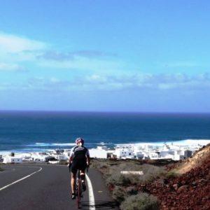 El Golfo à vélo