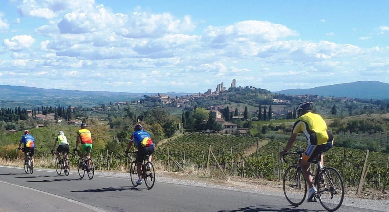 Stage de vélo en Toscane à Poggibonsi   du 9 au 16 avril 2022