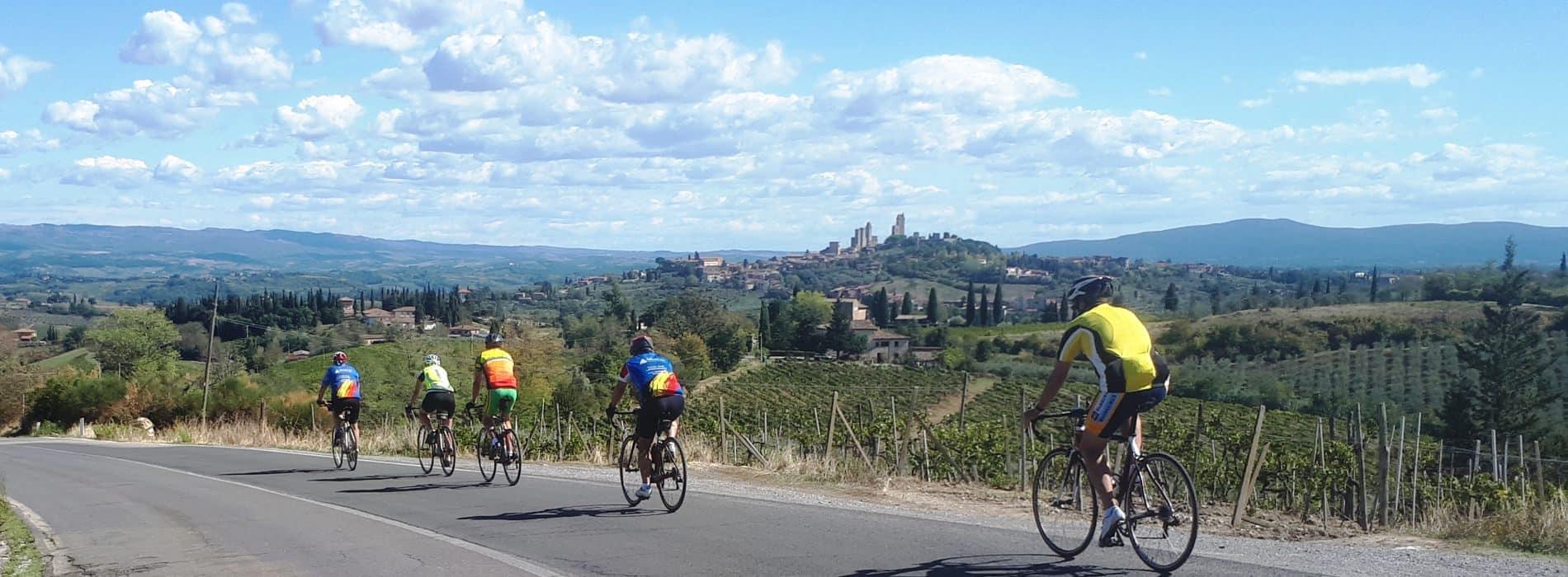 Stage de vélo en Toscane à Poggibonsi   du 24 avril au 1er mai 2021