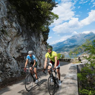Séjour cycliste en Italie: Lacs italiens du 1er mai au 31 juillet 2021