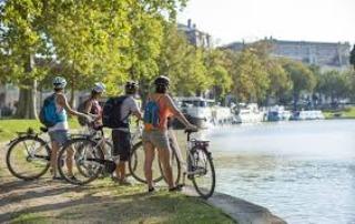 Week-end vélo dans l'Eure: Vernon-Giverny en mars et avril